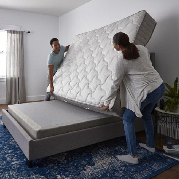 Flipping a mattress